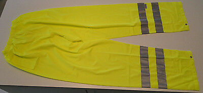 Condor 1YAW1 Lime Reflective Safety Over Pants in XXXL - NEW!