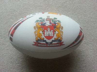 Wigan Warriors Steeden Rugby League Ball Size 5 (full size) - Brand New