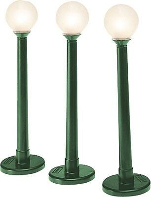 Globe Street Lamps 3 pack, Lionel 6-37173