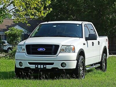 2008 Ford F-150  08 FORD F150 FX4 CREW CAB 4X4 1 OWNER ACCIDENT FREE TX TRUCK CARFAX CERTIFIED!!!