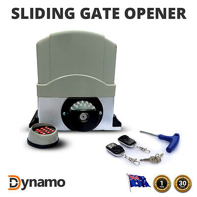 Automatic Electric Sliding Gate Opener 6 METER TRACK Remote Full Heavy Duty Kit