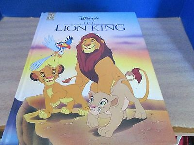 MOUSE WORKS~Walt Disney's THE LION KING Large Hardcover BOOK