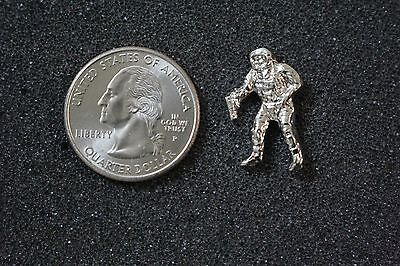Vtg Astronaut Space Sterling Silver Lapel Tie Tack Pin Pinback #19164