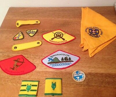 Canadian Scout Lot Very Good Condition ~ Patchs Tamaracouta