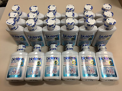 New Biotene Dry Mouth Oral Rinse Lot Of 24 Bottles Travel Size 2 Oz. Each Sealed