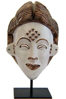 ND Dolfi for Neiman Marcus African Tribal Mask Italian Clay Pottery Ceramic