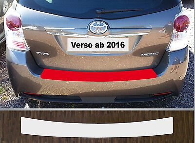 bumper strip protective film clear Toyota Verso, Facelift from 2016