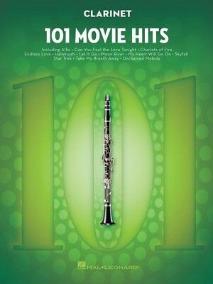 101 MOVIE HITS For Clarinet Book *NEW* Music Hal Leonard