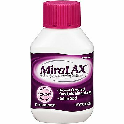MiraLAX laxative powder, 8.3 Ounces, 14 doses