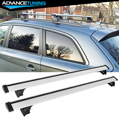 48 121CM Aluminum Universal Top Roof Rack Cross Bar Baggage Carrier With Lock