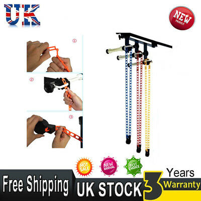 Photography 3-roller Wall Mounting Manual Background Support System Brackets UK