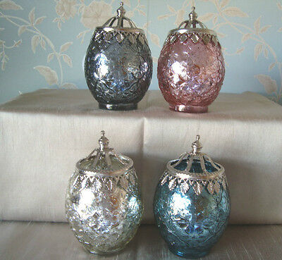 Moroccan Large Size Tea Light Holder lantern In 4 Bright Stunning Colours