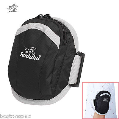 Tanluhu FK357 Unisex Water Resistant Running Cycling Mobile Phone Pouch Arm Bag