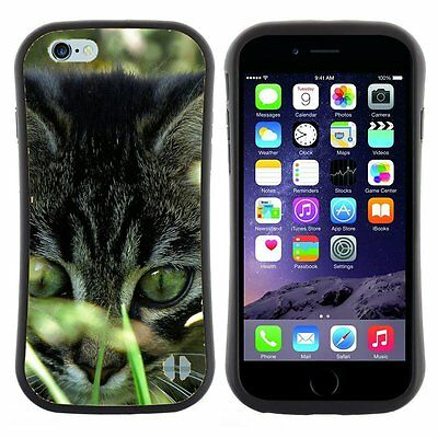 Anti-Drop Shockproof Heavy Duty Case For Apple iPhone kitty in grass