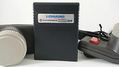 COMMODORE 64 PADDLES with LEMANS Cartridge game C64 VIC 20 vintage gaming