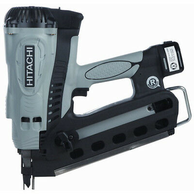 "Hitachi 3-1/2"" Cordless NiCd Full Round Head Framing Nailer NR90GR2 New"