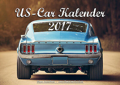AmericanMuscle.de US-Car Kalender 2017 DIN A4 V8 Chevy Hot Rod Muscle Car Ford