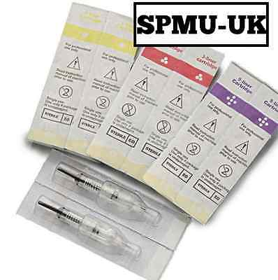 SPMU Semi Permanent Makeup Needle Cartridges - Micropigmentation Needles, Pen