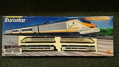 Hornby R647 Eurostar Train Set OO / HO Gauge