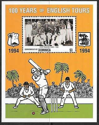 Dominica Sgms1879 1994 Cricket Mnh