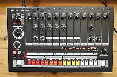 e-licktronic Yocto - The ultimate TR-808 clone (w/ midi) Ultra Rare (no AIRA !!)