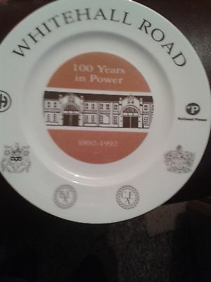 Whitehall Road Electricity Halifax Training Centre.Limited Edition Plate.