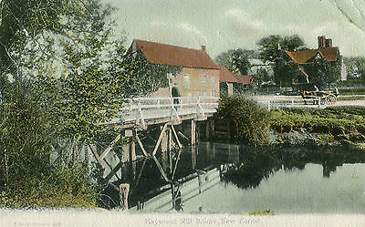 1900s Postcard Haywood Mill BOLDRE New Forest Hampshire