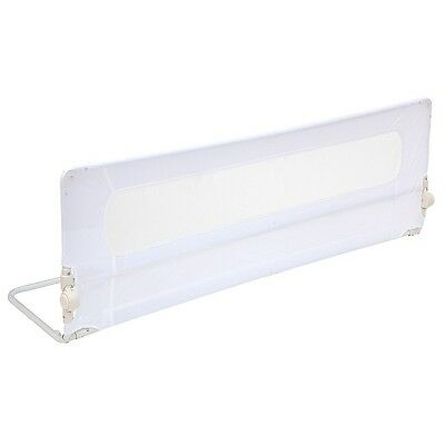 New Safetots Extra Wide Mesh Bed Rail - Extra Long Toddler Bedguard - White