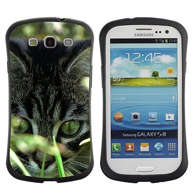 Anti-Drop Shockproof Heavy Duty Case For Samsung kitty in grass
