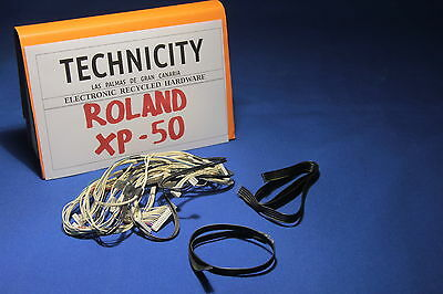Roland Xp - 50 - Complete Cable Set - Juego  De Cables    - Original - Tested