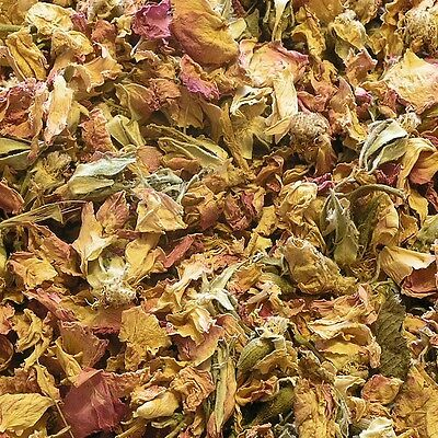 ROSE BULGARIAN FLOWER Rosa damascena DRIED Herb, Whole Natural Herbs Tea 50g