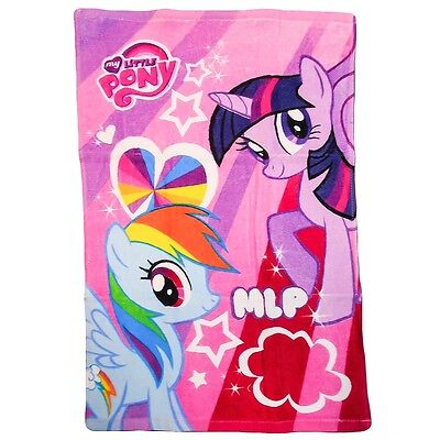 My Little Pony Face / Hand Towel  40cm x 60cm / 100% Cotton New Official