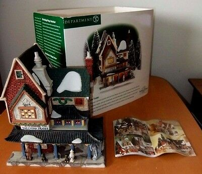 """""""the China Trader"""" 1999~#58447~Dept 56~Retired Dickens Village~Mint In Box"""