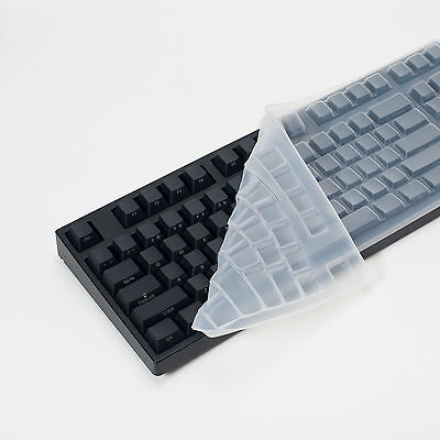 Leopold Clear Silicone Keyboard Cover Skin for FC750R Tenkeyless