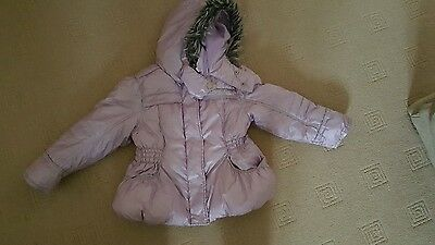 Girls winter jacket from Next age 5-6