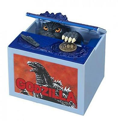 Godzilla Movie Musical Monster Moving Electronic Coin Money Piggy Bank Box New