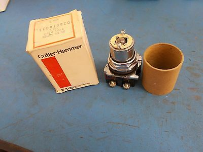 Cutler Hammer Illuminated Selector Switch 10250T6033