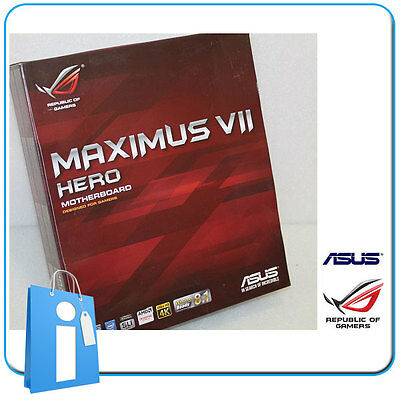 Placa base ASUS Z97 MAXIMUS VII HERO Socket 1150 con Defecto en LAN