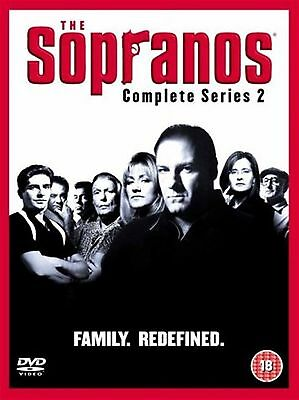 Sopranos Complete Series 2 (2003) Brand New And Sealed Uk Region 2 Dvd