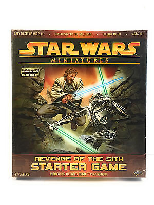 STAR WARS Miniatures Revenge of the Sith Starter Board Game Set NEW/Sealed Box