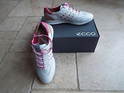 Ecco Street Evo One Ladies Womens spikeless golf shoes size 6 UK 39 EUR