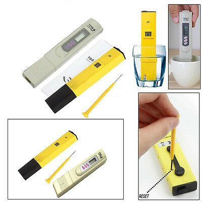 Digital LCD PH Meter TDS Water Purity PPM Filter Hydroponic Pool Tester Pen