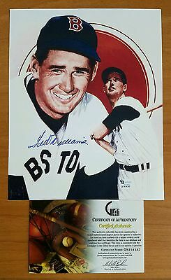 Ted Williams Autographed Picture - GAI