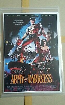 Script  Screenplay Army Of Darkness Bruce Campbell