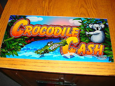 Crocodile Cash  Slot  Plexi   For Your   Man Cave  Wall