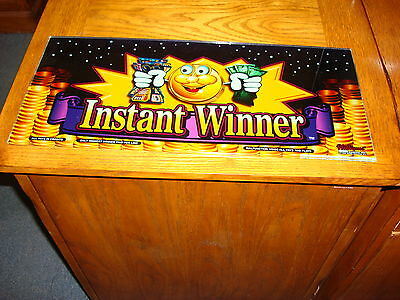 Instant Winner  Igt  Slot Glass      Man Cave Glass