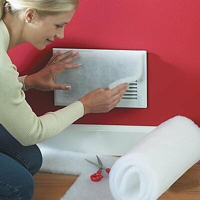 Vent Guard Filter Roll Air Cleaner Dirt Indoor Allergens Protection Cover 16x60