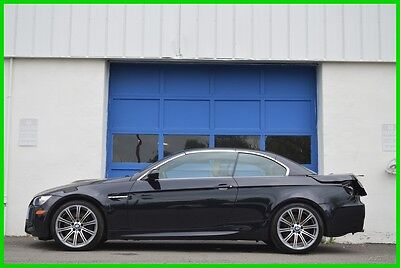 2011 BMW M3 E92 Cab Convertible 6 Speed Manual Loaded Save Big Repairable Rebuildable Salvage Runs Great Project Builder Fixer Easy Rear Hit
