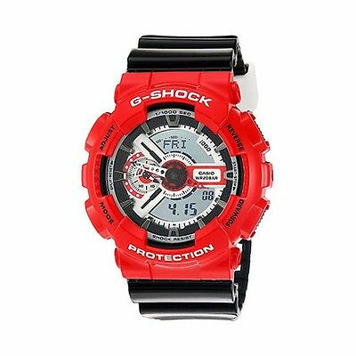 CASIO GA-110RD-4ACR G-Shock Red Collection Men's Watch-Brand New *RRP £203.00*