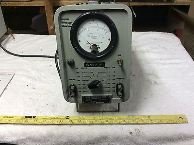 Ham Radio, Orion Electronic Corp Vacuum tube voltmeter Model V-100m Lights Up